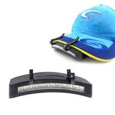 best hat clip light wholesale 11 led clip cap l hat brim cap light cap l caplights