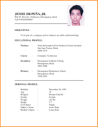 simple student resume format simple student resume format 4 simple resume format for students