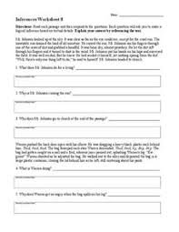 making inferences lesson plans u0026 worksheets reviewed by teachers