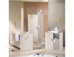 chambre bébé blanc et taupe lit bébé sauthon leaf blanc taupe lf031 60x120 pas cher ubaldi com
