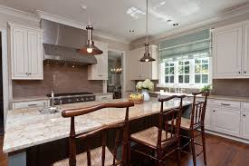 ornamental gold granite countertop kitchen traditional with tile