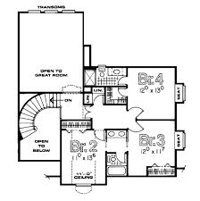 tudor floor plans tudor style house plan 4 beds 3 50 baths 2850 sq ft plan 20 2020