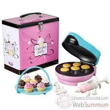 boite metal cuisine simeo appareil à cupcakes boîte métal déco cuisine 12487 dans