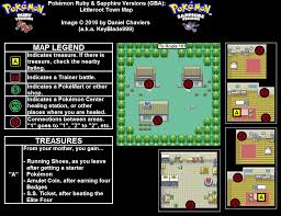 Ruby Map Pokémon Ruby Sapphire Littleroot Town Map Png Neoseeker