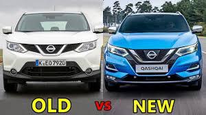 qashqai nissan old vs new nissan qashqai youtube