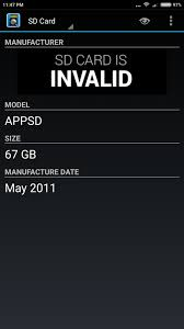 android speed test to check and detect micro sd cards in android with speed test