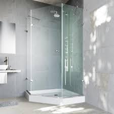 Glass Shower Doors Nashville by Delta 35 7 8 In X 35 7 8 In X 71 7 8 In Semi Frameless Neo