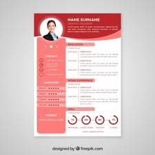 template curriculum vitae creative cv template vectors photos and psd files free download