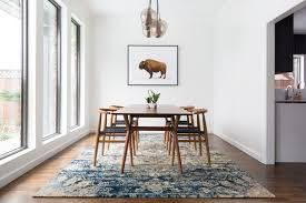 Dining Room Carpet Size - dining room dining table rug rug under dining room table dining