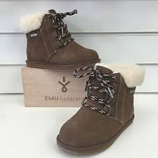 s waterproof winter boots australia emu australia shoreline waterproof winter boots in oak suede