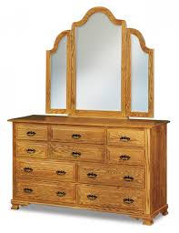 Amish Made Bedroom Furniture by Hoosier Heritage 10 Drawer Dresser Amish Interiors By North Star