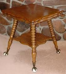 claw foot table with glass balls in the claw 1890 s oak parler table w glass ball claw feet southwest spirit
