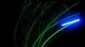 blu ray uv laser drawings on glow in the dark paint youtube