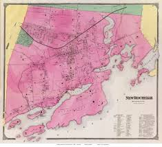 County Map New York by 1868 Westchester County Ny Maps Single Map Reprints
