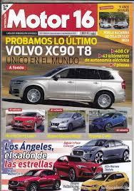 revista motor 2016 revista motor 16 nº 1688 año 2016 prueba volv comprar revistas