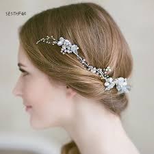 wedding headband by handmake 2018 wedding headband crowns flower party wedding