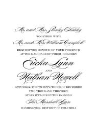 wedding programs wording exles words to put on a wedding invitation 21413 patsveg
