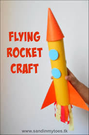 paper towel roll rocket towel