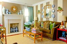 interior colors that sell homes atlanta real estate bold color antiques highlight tour home