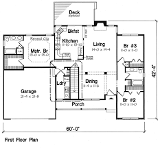 ranch style house plan 3 beds 2 00 baths 1575 sq ft plan 312 271