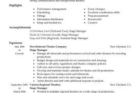Sample Resume For Warehouse Supervisor Resume Sample For Production Operations Apparel Manufacturing