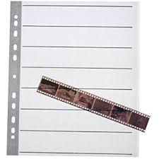 Archival Photo Pages 25 X Negative Filing Sheets For 35mm Film Acid Free Amazon Co Uk