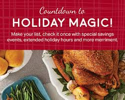 Save On Foods Thanksgiving Hours Calendar Sam S Club