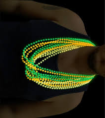 glow in the necklaces glow in the beaded necklaces 12 pack