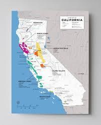 Napa Valley Winery Map California Wine Maps Wine Folly