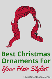 best ornaments for hair stylist mosaic
