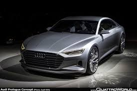 future audi a9 a walkaround the audi prologue with audi design