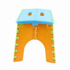 Plastic Stool Children Mini Step Foot Stool Folding Easy Taking Plastic Stool Chair