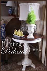 25 best painted pedestal tables ideas on pinterest whimsical