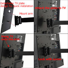 tv flexible wall mount videosecu full motion tv wall mount for vizio 24 28 32 37 39 40 42