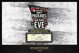 new years party package new year s party packages at lucky strike lucky strike lanes