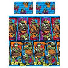 Schlafzimmer Zubeh Bettwäsche Teenage Mutant Ninja Turtles Schlafzimmer Zubehör Ebay
