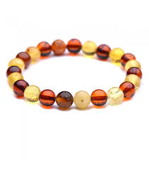 amber bead bracelet images Round beads amber bracelet colorful genuine baltic amber jpg