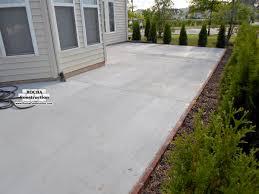 Concrete Patio Blocks Best Concrete Patio With Brick Border Home Design Very Nice Fancy