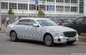 maybach 2015 2017 mercedes maybach e class spy shots mbca