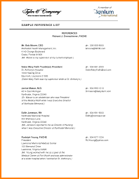 References On Resume Examples by Reference Sheet Sample Resume Examples References Page Template