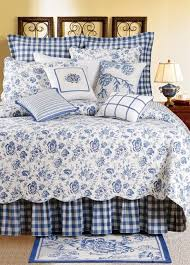French Toile Bedding Waverly Blue Toile Bedding U2013 Home Blog Gallery