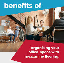 benefits of organising your office space with mezzanine flooring