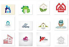 home and design logo 15 free vector house logos for start ups