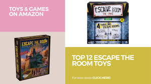 Best Escape The Room Games - top 12 escape the room toys toys u0026 games on amazon youtube