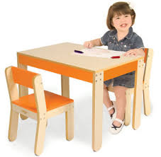 childrens white table and chairs amazon com p kolino little one s table and chairs orange
