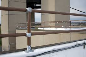 Removable Banister Roof Parapet Railing Mounting A Railing Directly To The Top Of A