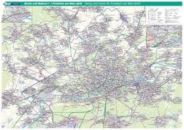 Bus Map Los Angeles by Frankfurt Maps Germany Maps Of Frankfurt Am Main