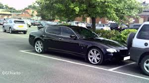 maserati blacked out black maserati quattroporte sport gt youtube