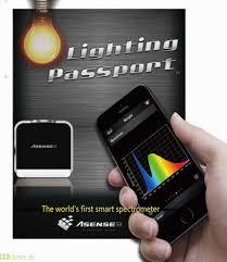 color spectrometer lighting passport high class photospectrometer