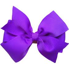 bow for hair purple hair bow 4 inch purple bow purple bow polyvore